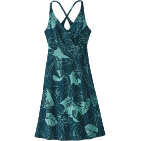 Patagonia Amber Dawn Dress Women Valley Flora: Tidal Teal